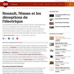 Renault, Nissan et les déceptions de l'électrique