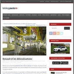 Renault et les délocalisations