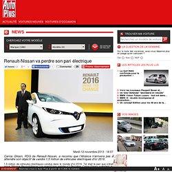 Renault va perdre son pari de l'électrique