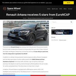 Renault Arkana receives 5 stars from EuroNCAP