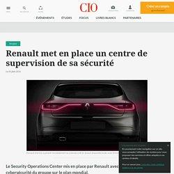 Pour renforcer sa cybersécurité, Renault a mis en route un SOC avec Sogeti