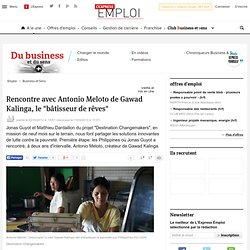 """Rencontre avec Antonio Meloto de Gawad Kalinga, le """"bâtisseur de rêves"""""""