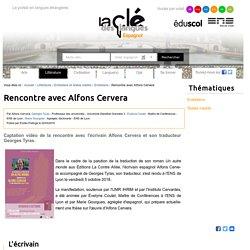 Rencontre avec Alfons Cervera