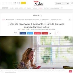 Sites de rencontre, Facebook... Camille Laurens analyse l'amour virtuel - L'Express Styles
