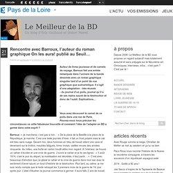 Rencontre avec Barroux, l'auteur du roman graphique On les aura! publié au Seuil…