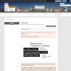 Report le 19 mars 2020 - Rencontre François Ascher - Individu hypermodernité ...