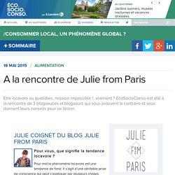 A la rencontre de Julie from Paris