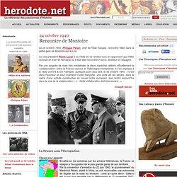 24 octobre 1940 - Rencontre de Montoire