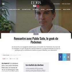 Rencontre avec Pablo Soto, le geek de Podemos