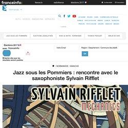 Jazz sous les Pommiers : rencontre avec le saxophoniste Sylvain Rifflet - France 3 Normandie