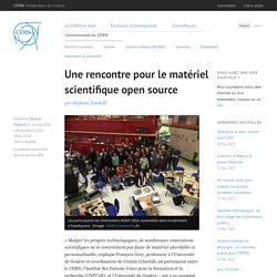 Une rencontre pour le matériel scientifique open source