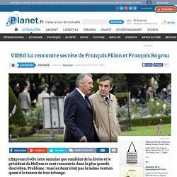 VIDEO La rencontre secrète de François Fillon et François Bayrou