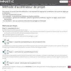 Rencontres MOUSTIC 2013 : AccelerateurProjet