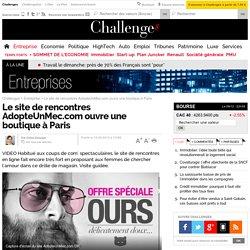 AdopteUnMec.com ouvre une boutique à Paris