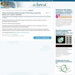 @ Brest - 1ères rencontres bretonnes des TICE et du e-learning