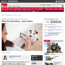 Sites de rencontres... pour chiens