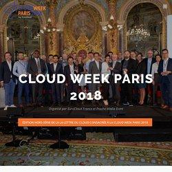 Les rencontres du Cloud – 3 au 6 juillet 2018