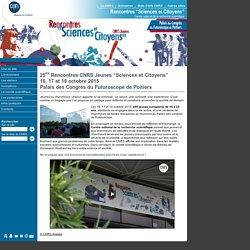 Rencontres CNRS Jeunes