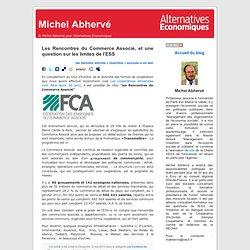 Les Rencontres du Commerce Associé, et une question sur les limites de l'ESS