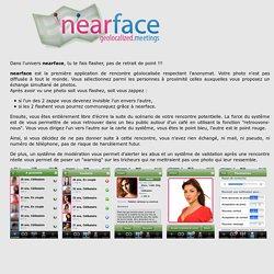 nearface - Rencontres géolocalisées anonymes pour iPhone
