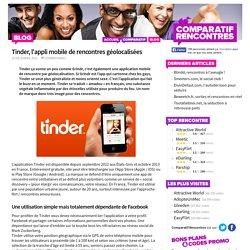 Tinder, l'appli mobile de rencontres géolocalisées