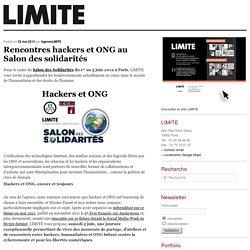 Rencontres hackers et ONG au Salon des solidarités