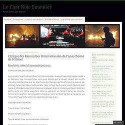 Critique des RIA 2012 à St-Imier