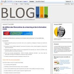 4e édition des Rencontres du e-learning et de la fo