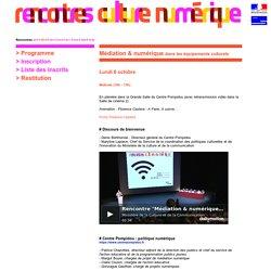 (4) Rencontres numériques