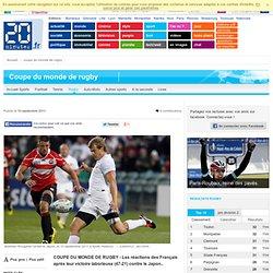 Rugby: Aurélien Rougerie parle d'un «match pour rien»... Médard évoque le manque de rencontres de prépration...