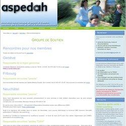 Rencontres/régions - Aspedah