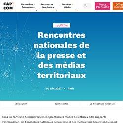 Rencontres nationales de la presse et des médias territoriaux