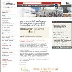 Annonce des 2e rencontres par la MSH de Dijon