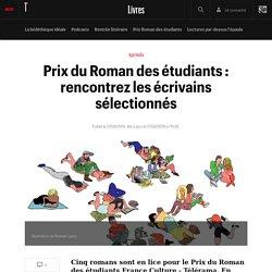 Prix du Roman des étudiants : rencontrez les écrivains sélectionnés