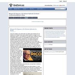Margem De Seguran a De Graham Aplicada Ao Brasil - rendavariavelaplican's Blog - BlackPlanet.com