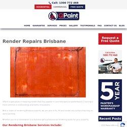 Render Repairs Brisbane