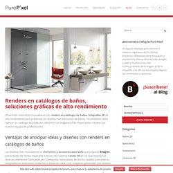 Renders en catálogos de baños - PurePixel
