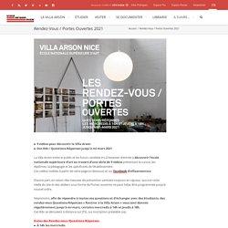 VILLA ARSON Nice / Portes Ouvertes 2021