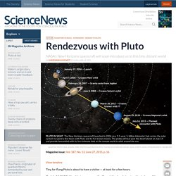 Rendezvous with Pluto