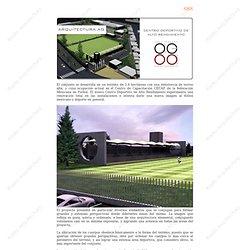 Centro de Alto Rendimiento - Arquitectura AG