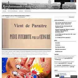 L'art rendrait-il ses lettres de noblesse au porno ? « Bordeauxzob – cité(e) cultivée