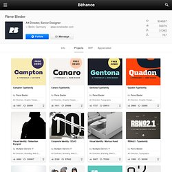 Rene Bieder on the Behance Network
