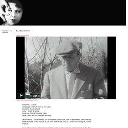 René Char - René Char (documentary, 1967)