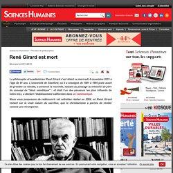René Girard est mort