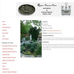 Renée's Treasure Trove - Contact