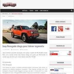 Jeep Renegade chega para liderar segmento
