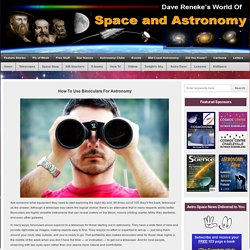 Space and Astronomy News