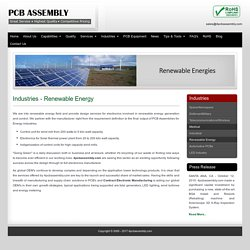 Electronics for Solar Thermal Power Plant - 4PCBAssembly