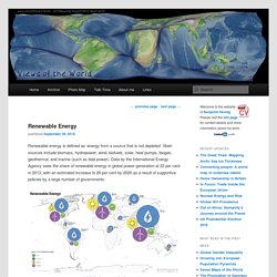 Renewable Energy - Views of the World