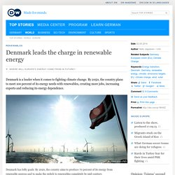 Denmark leads the charge in renewable energy